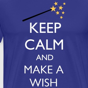 KEEP CALM WISH - Männer Premium T-Shirt