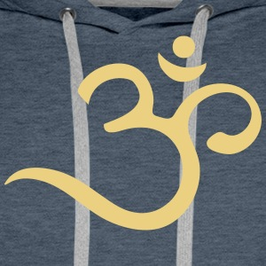 Om, Symbol, Buddhism, Mantra, Meditation, Yoga Sweat-shirts - Sweat-shirt à capuche Premium pour hommes