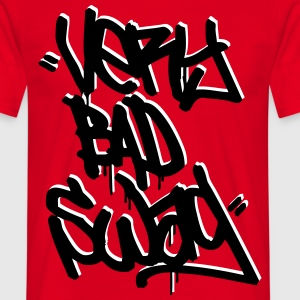 Tshirt very bad swag red - T-shirt Homme