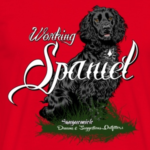 working_spaniel T-Shirts - Men's T-Shirt