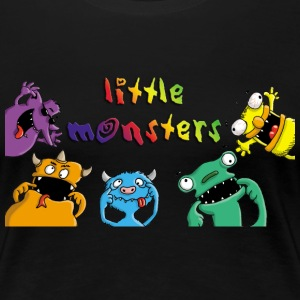 little_monsters_c_102013 T-Shirts - Frauen Premium T-Shirt