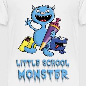 little_school_monster_b_102013 T-Shirts - Kinder Premium T-Shirt