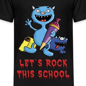 little_school_monster_c_102013 T-Shirts - Kinder Premium T-Shirt