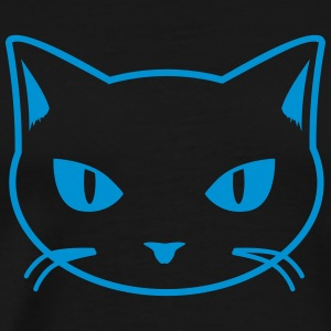 cat - kitty - katze - chat T-shirts - Premium-T-shirt herr