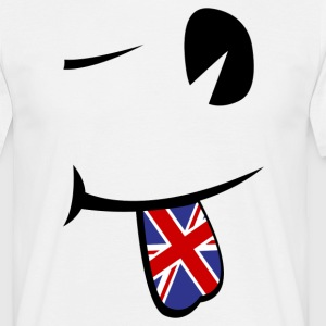 Union Jack Tongue  Camisetas - Camiseta hombre