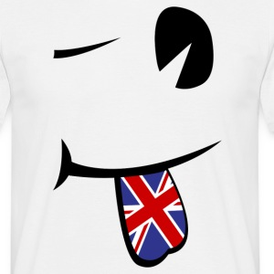 Union Jack Tongue  Tee shirts - T-shirt Homme