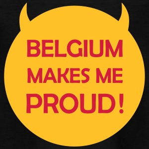 Belgium makes me proud ! Tee shirts - T-shirt Enfant