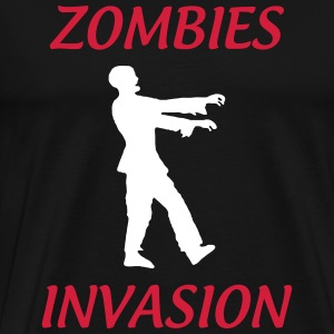 Zombies Invasions ! Tee shirts - T-shirt Premium Homme