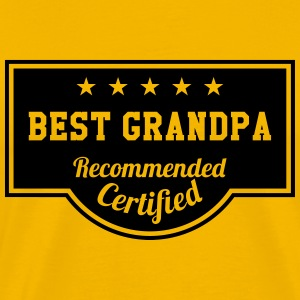 Best Grandpa T-Shirts - Men's Premium T-Shirt