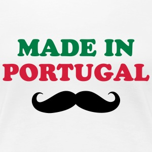 Made in Portugal Camisetas - Camiseta premium mujer