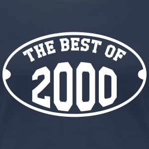 The Best of 2000 T-Shirts - Frauen Premium T-Shirt