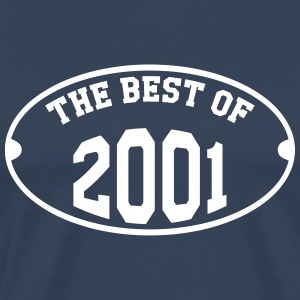 The Best of 2001 T-shirts - Herre premium T-shirt