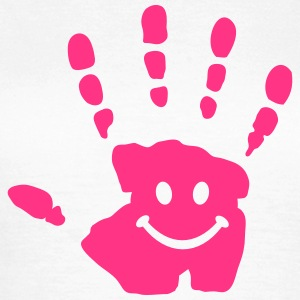 hand smiley T-Shirts - Women's T-Shirt