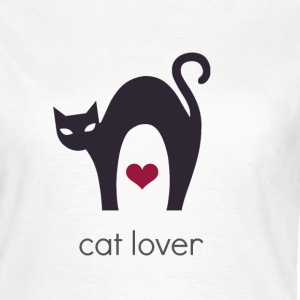 T-Shirt Cat Lover - Frauen T-Shirt