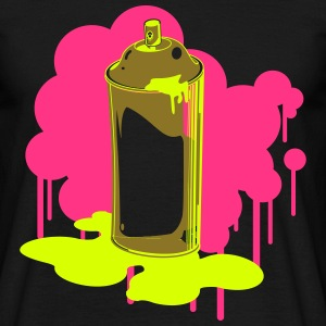 spray can T-Shirts - Men's T-Shirt