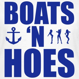 Boats N Hoes Tee shirts - T-shirt Femme