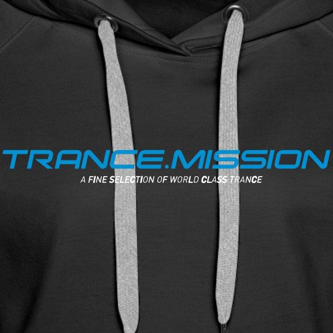 Trance.Mission (w) hoodie (black)