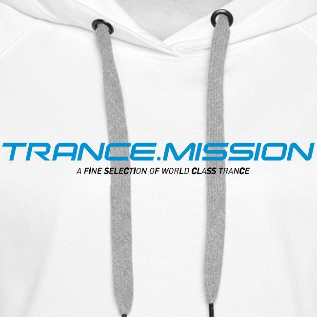 Trance.Mission (w) hoodie (white)