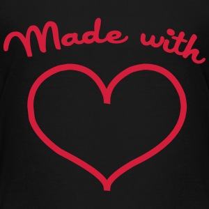 Made with love T-shirts - Premium-T-shirt barn