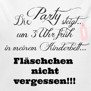 Die Party steigt.... Pullover & Hoodies - Baby Bio-Langarm-Body