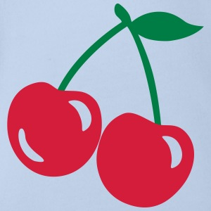 cherries T-Shirts - Baby Bio-Kurzarm-Body