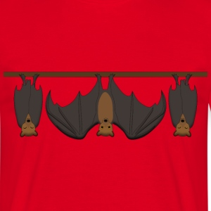 flying fox 2 T-shirts - Mannen T-shirt