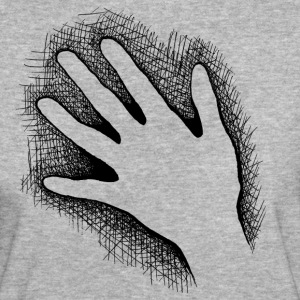 Hand - Black T-Shirts - Frauen Bio-T-Shirt