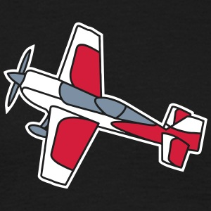 airplane flying glider fliegen flugzeug freedom T-shirts - T-shirt herr
