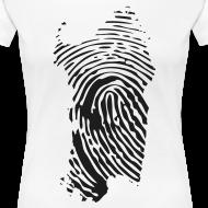 ~ Sardegna, Impronta digitale (glitter)