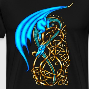 Celtic Dragon T-Shirts - Men's Premium T-Shirt