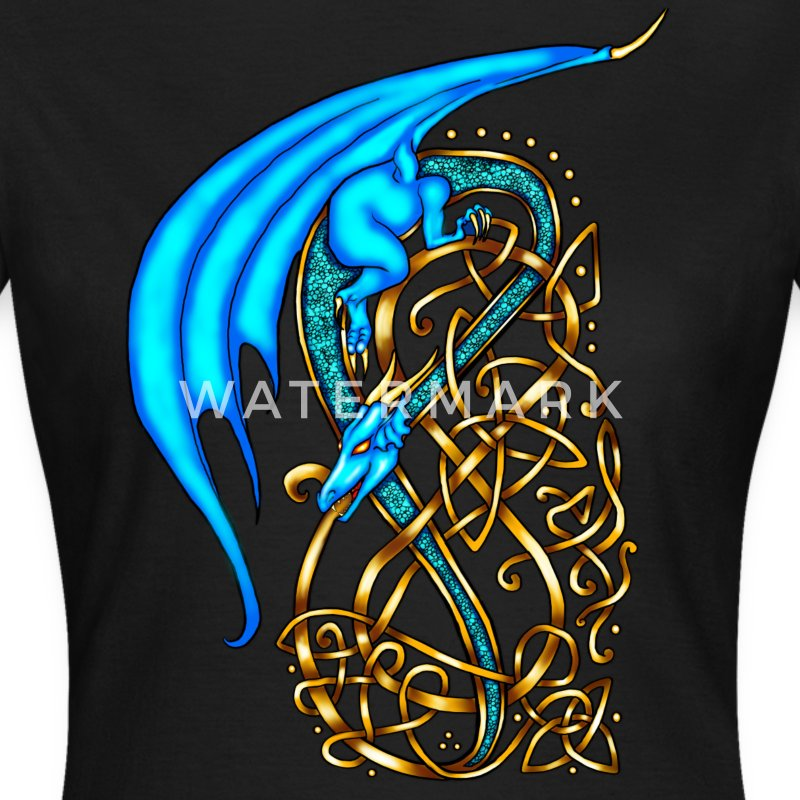 Celtic Dragon T-Shirts - Women's T-Shirt