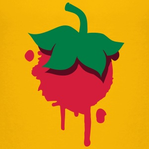 Strawberry patch graffiti Shirts - Kids' Premium T-Shirt