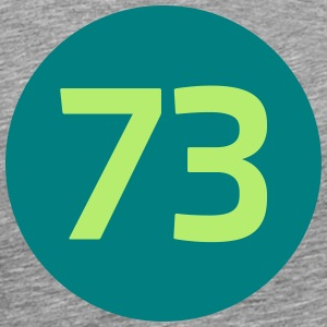 73 the best number BIG BANG  - Männer Premium T-Shirt