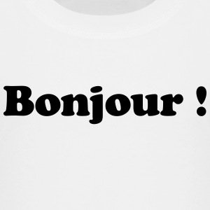 bonjour - hallo T-Shirts - Teenager Premium T-Shirt