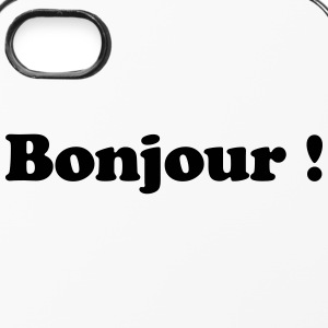 bonjour - hallo Handy & Tablet Hüllen - iPhone 4/4s Hard Case
