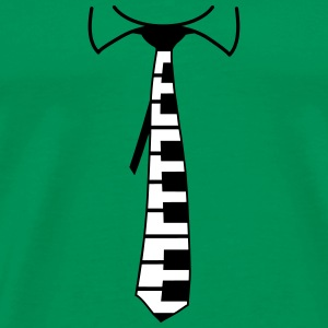 Piano Tie Design T-Shirts - Men's Premium T-Shirt