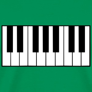 Piano Keys Design T-skjorter - Premium T-skjorte for menn