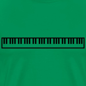 Cool Piano Keys Music Design T-skjorter - Premium T-skjorte for menn