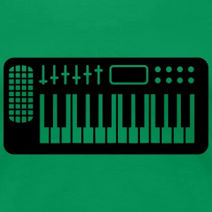 Keyboard Piano Design T-Shirts - Women's Premium T-Shirt