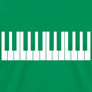 Cool Piano Keys Design T-Shirts - Men's Premium T-Shirt