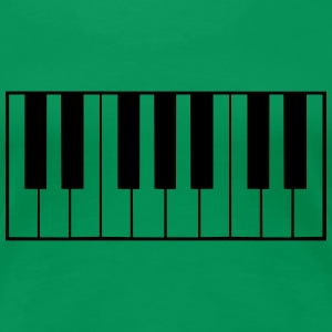 Piano Keys Design T-Shirts - Frauen Premium T-Shirt