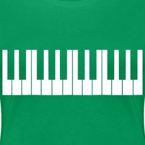 Cool Piano Keys Design T-skjorter - Premium T-skjorte for kvinner