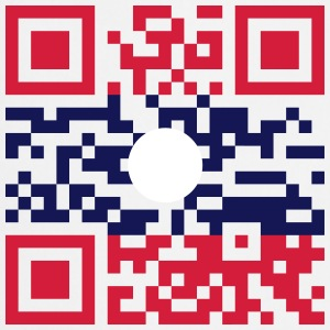 I Love Laos (Khoy Huk Lao) Flag QR Code / Lao Geek - Cooking Apron