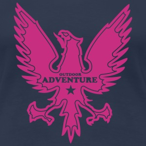 Adler Outdoor Adventure T-Shirts - Frauen Premium T-Shirt