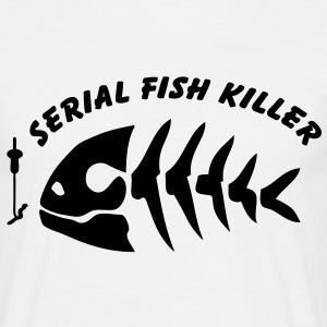 Serial fish killer pêche pêcheur poisson - T-shirt Homme