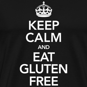 Keep Calm And Eat Gluten Free T-Shirts - Men's Premium T-Shirt