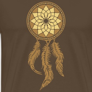 Dreamcatcher, Native Indians, protection T-shirts - Premium-T-shirt herr