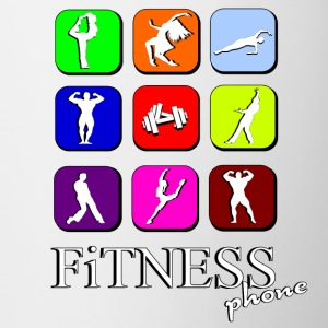 Fitness phone Flessen & bekers - Mok