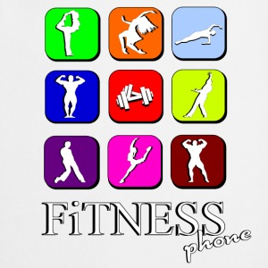 Fitness phone Kookschorten - Keukenschort