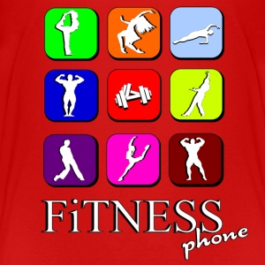 Fitness phone Shirts - Kids' Premium T-Shirt